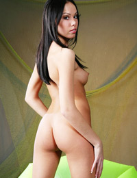 Wonderful dahlia a exposes her perky body